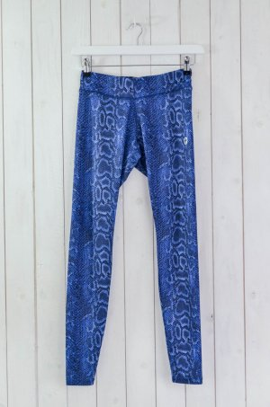 Leggings azul-negro Poliéster
