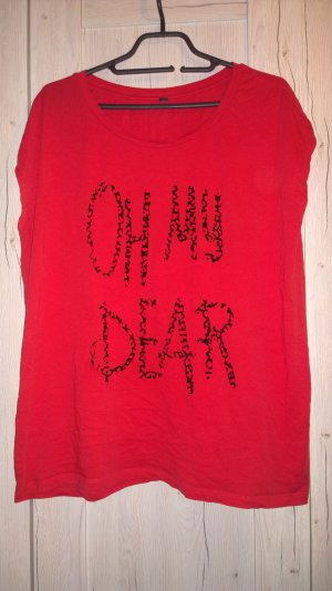 Oh My Dear / rotes Shirt