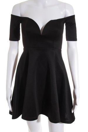 Oh my love A-Linien Kleid schwarz Elegant