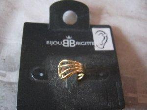 Bijou Brigitte Earclip gold-colored