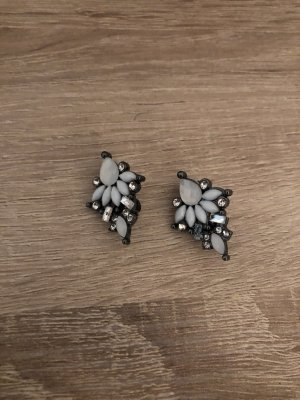 Bijou Brigitte Earclip white-silver-colored