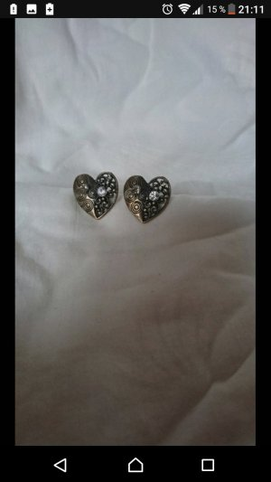 Earclip bronze-colored