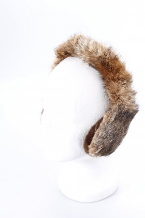 Earmuff light brown Fur Trim