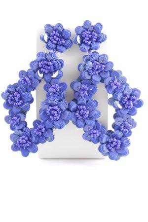Ohrhänger blau Casual-Look