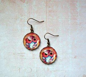 Bungeloorbellen brons-licht Oranje Metaal