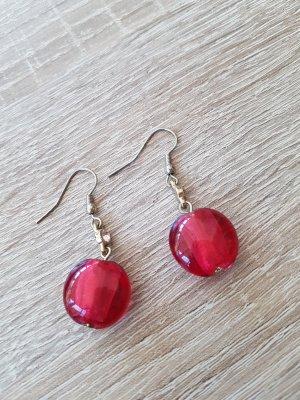 Ohrhänger in rot