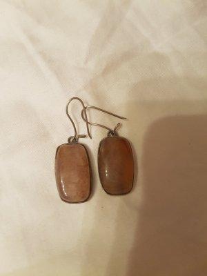 Ohrhänger mit Achatstein