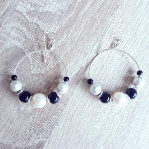 Ohrhänger mit Perlen