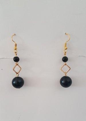 Bungeloorbellen zwart-goud