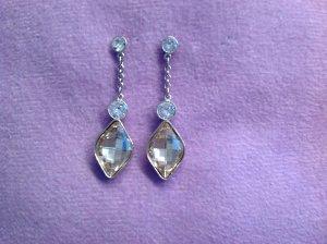 Ohrhänger mit Swarovski-Kristallen