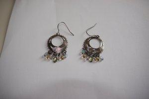 Ohrhänger Ohrringe mit bunten Perlen Boho gypsy