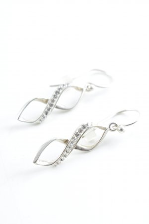 Dangle silver-colored elegant