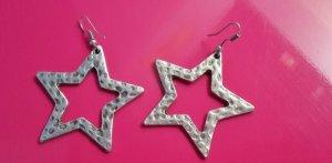 Ohrhänger Stern Silberfarben Modeschmuck nur noch bis 10. Oktober