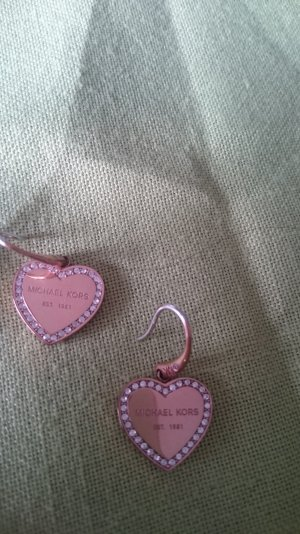 Ohrhänger von MICHAEL KORS rosegold Herzform