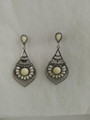 Ohringe Ohrstecker Orientoptik mit Perlen artiken Steinen