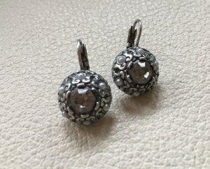 Ohrring Kristall und Perlen
