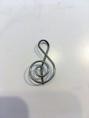 Ohrring Notenschlüssel
