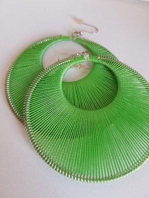 Dangle silver-colored-green