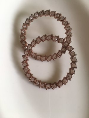 Bijou Brigitte Statement Earrings rose-gold-coloured