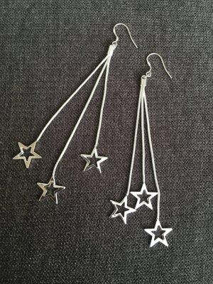 Ohrringe 925 gestempelt Ohrhänger mit Sternen