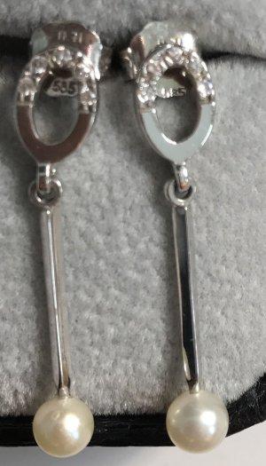 Ohrringe aus 585 Weissgold