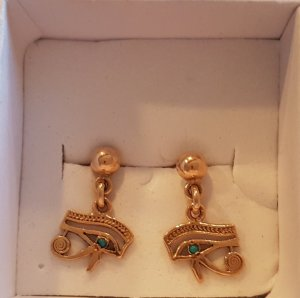 Ohrringe aus echtem 18 Karat Gold