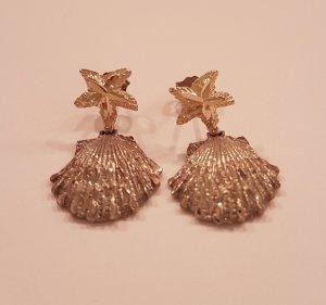 Ohrringe aus Silber (925) und 18 Karat Gold vergoldet -  *letzter Preis *
