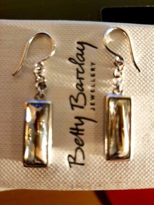 Ohrringe aus Silber und Zirkonia Stein  Neu