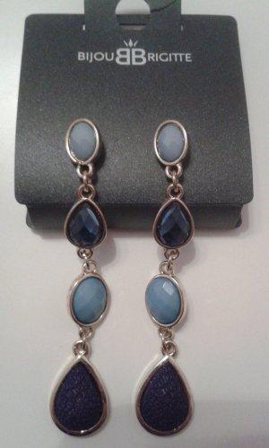 Ohrringe blau Bijou Brigitte neu