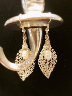 """Ohrringe """"Callas"""" mit Süßwasserperle"""