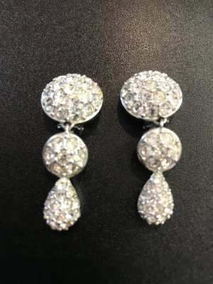 Christian Dior Oorclips zilver
