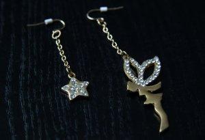 Ohrringe Elfe und Stern