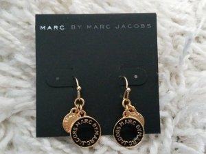 Ohrringe gold schwarz Marc Jacobs