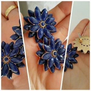 Ohrringe h&m marineblau