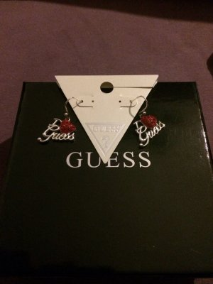 "Ohrringe ""I love Guess"""