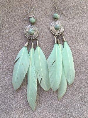 Ohrringe im indianischen Style