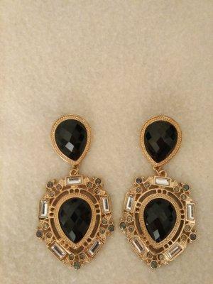 Ohrringe in gold und schwarz von Bijou Brigitte NEU und ungetragen!