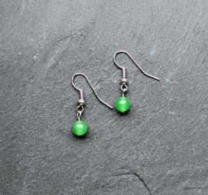 Ohrringe Jade grün