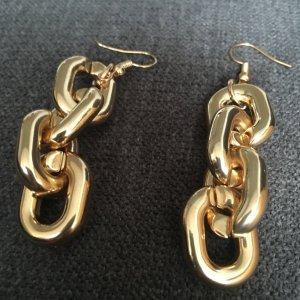 Ohrringe Ketten Optik goldfarben Modeschmuck