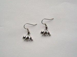 Ohrringe kleiner Bär Silberfarben