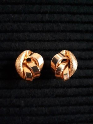 Vintage Earclip gold-colored