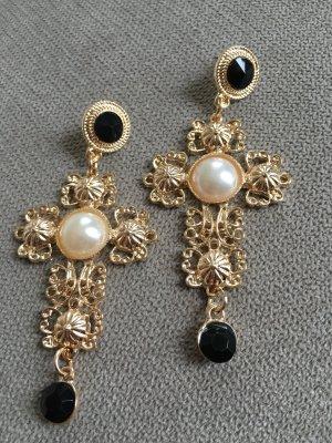 Ohrringe Kreuz Vintage MUST HAVE Modeschmuck NEU
