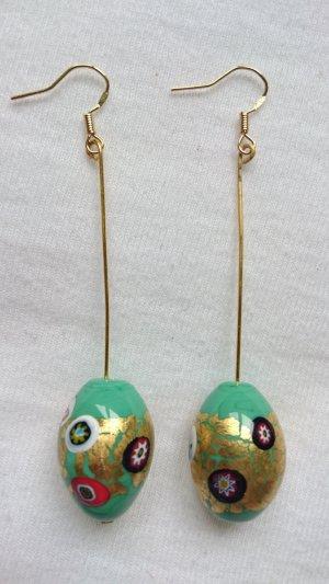 Ohrringe mit Murano-Glasperlen