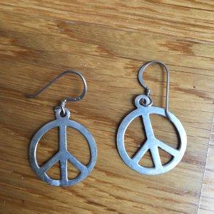 Ohrringe mit Peacezeichen