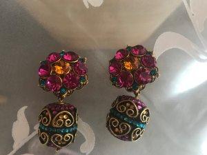 Ohrringe - Multicolor - zum Klipsen !