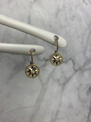 Ohrringe neu Hänger Stecker Stern gold