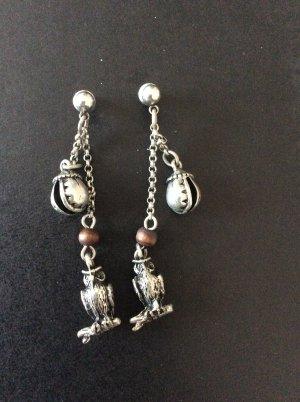 Ohrringe Ohrhänger Pilgrim silber