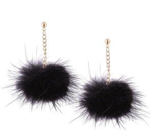 Bungeloorbellen zwart