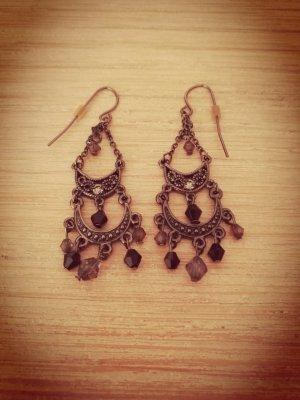 Ohrringe/Ohrhänger schwarz
