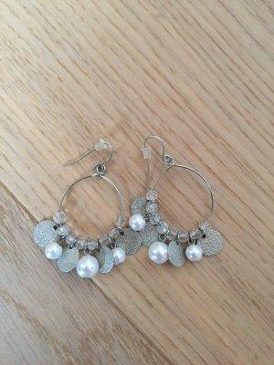 Ohrringe Ohrhänger silber Modeschmuck
